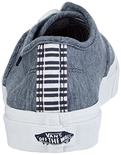 Vans W Camden Stripe, Baskets Basses Femme Bleu ((stripes) Navy