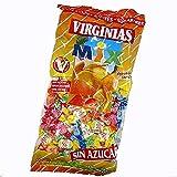 Virginias mix - fruchtige Kaubonbons ohne Zucker - 1kg
