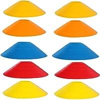 Limeow Coni Disco di Calcio Marcatura dei Coni Coni di Calcio in Plastica può Aiutare i Giocatori Professionisti a…
