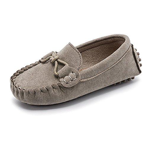 d387ff14 Sunny&Baby Mocasines al Aire Libre para niños de Little Kid's Causal Zapatos  para niños pequeños Resistente