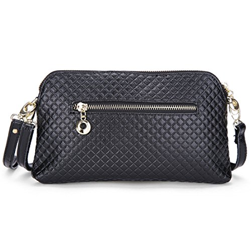 MEI Signora Messenger Bag Belle Controllare,Rosered black