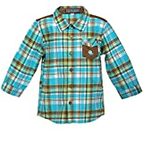 Lil Poppets Shirt with Fish on Pocket fo...
