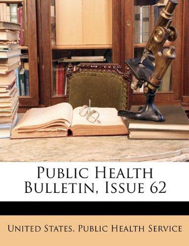 Public Health Bulletin, Issue 62