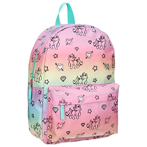 Milky Kiss Rainbows and Unicorns Kinder-Rucksack, 39 cm, 13.5 liters, Mehrfarbig (Origin)