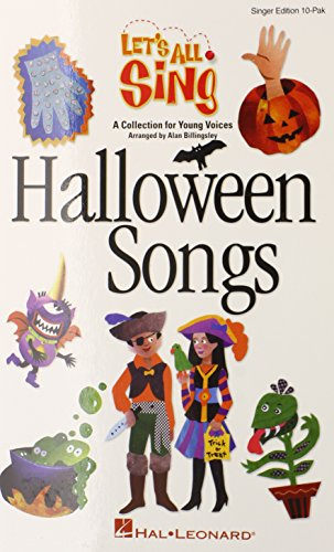Halloween Songs: Let's All Sing (Collection for Young Voices - Singer Edition 10 Pak)