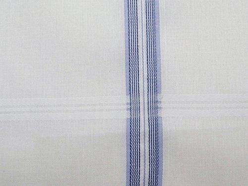 Accessoires Mouchoirs hommes Pocket Square Mouchoir en coton à rayures - Choisissez Paquet Blanc