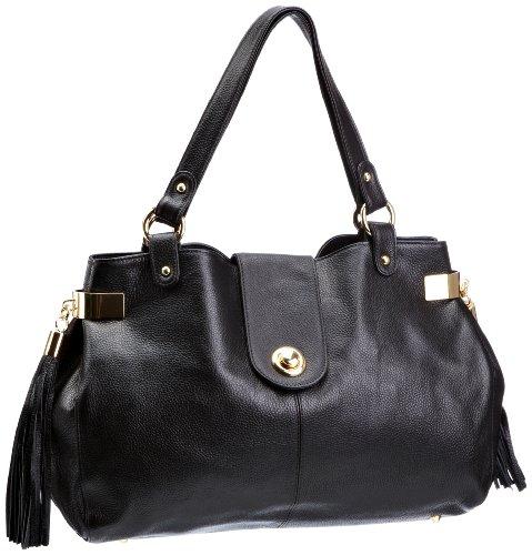 Onna Ehrlich Brooke FWB Shoulder Bag, Sac à main femme Noir-V.6