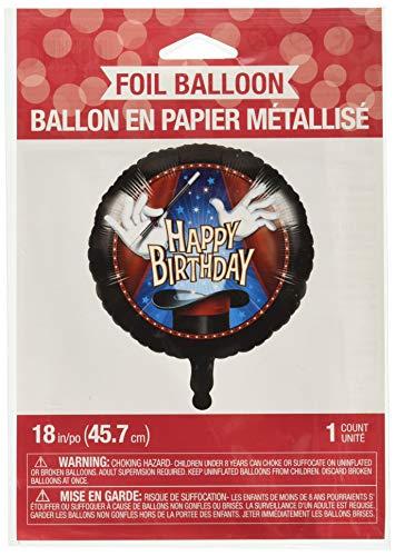 Folienballon * HAPPY BIRTHDAY - ZAUBEREI * für Kindergeburtstag und Motto-Party // Zauberer Kinder Geburtstag