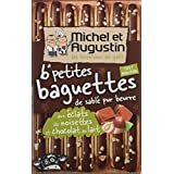 Michel et Augustin Petites Baguettes de Sablé Pur Beurre aux Éclats de Noisettes/Chocolat au Lait -...