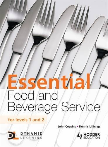 Essential Food and Beverage Service for Levels 1 and 2