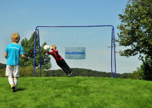 HUDORA Fußball-Tor XXL, groß - Fußballtor Garten - 76128 -