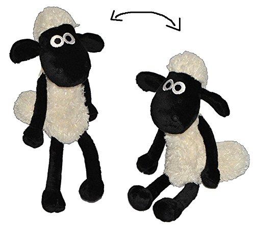 Unbekannt Shaun das Schaf - Plüschtier 29 cm - Schafe Plüschschaf Plüsch Schlenker Tier Tiere Kuscheltier Stofftier