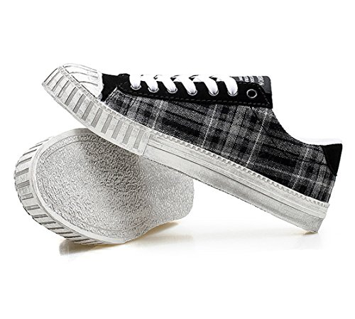 Chaussure shearling femme homme adulte mixte basket mode amoureux sportif sneakers Noir