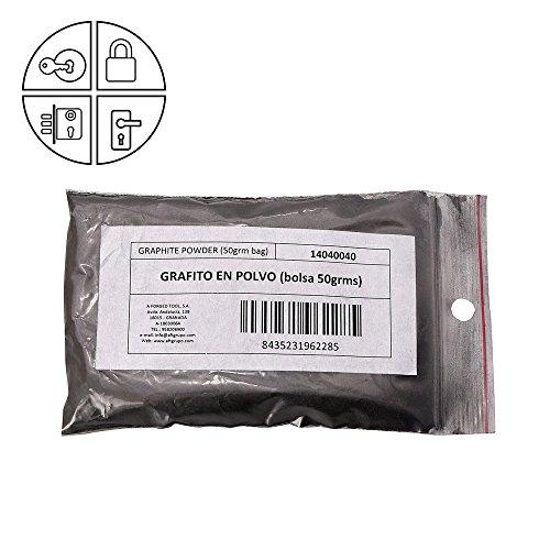WOLFPACK 14040040 Grafito en polvo (Bolsa de 50 gramos)