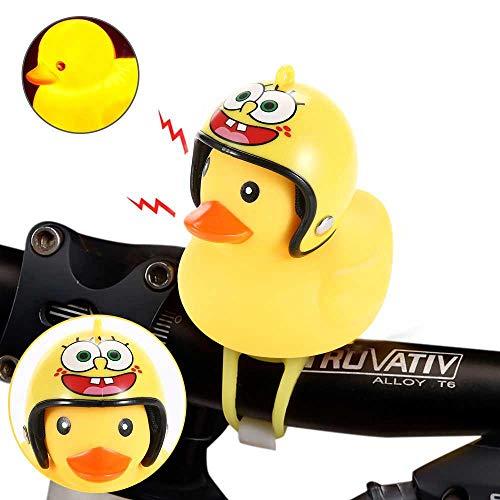 Vuffuw Kids Bike Horn, Cute Duck Fahrrad-Fahrrad-Fahrrad-Fahrrad-Handtaschen-Bell, Clip auf Handleabr für Erwachsene und Kinder