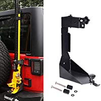 MOTL High Lift Jack Mount Bracket fit for Jeep Wrangler JK 2007-2018