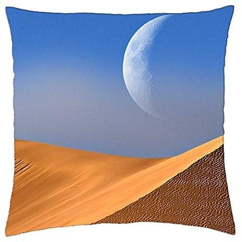 Desert Moon - Throw Pillow Cover Case (18