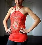 "Yoga-tank ""sita"", Bright Red Kismet Yogastyle"