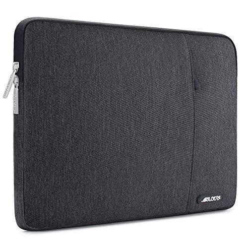 MOSISO Hülle Kompatibel iPad Air 3 10,5 2019, 9,7-11 Zoll iPad Pro, Surface Go 2018, iPad Air 2/Air (iPad 6/5), iPad 1/2/3/4 Wasserabweisende Polyester Vertikale Laptoptasche, Space Grau