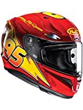 Casco Moto Hjc Rpha 11 Lightning Mcqueen Disney Pixar Light (L, Rojo)