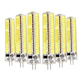 LED-Leuchtmittel, Kronleuchter, 10 W (entspricht 80 W Halogen), Tageslichtweiß, 6500 K, dimmbar, Kücheninsel, Mikrowellenbereich für Lampen, Kronleuchter, Hängelampe, Energiesparlampe, AC 110-120 V G4