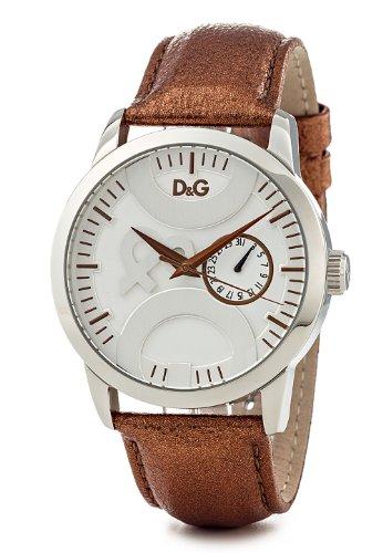 D&G Dolce&Gabbana Herren-Armbanduhr XL Analog Leder DW0700