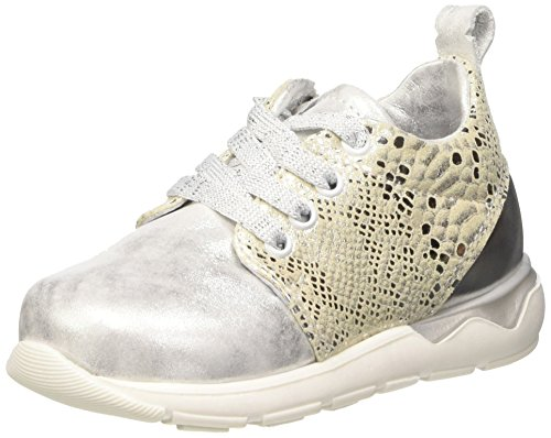 Pinocchio P1862/162/0000, Baskets Basses fille Argent - Silber (90PW / 90PM)