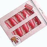 PhantomSky 10 Pz Plastica Acrilica Unghie Arte Accessori Impregna Fuori Tappo Semplice Funzionale Scorciatoia Polacco UV Gel di Rimozione Wrap Strumento Manicure (Rosa)