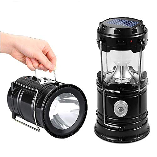 Portable Outdoor LED Camping Light - Ideal für Camping, Outdoor, Shack, Dachboden, Garage/Nachtbeleuchtung [batteriebetrieben | wasserdicht] Wandern/Erste Hilfe/Angeln/Gartenarbeit