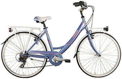 Legnano Ciclo 261 Tropea, City Bike Donna, Lilla, 46