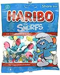 Haribo The Smurfs Gummi Candy - 140g