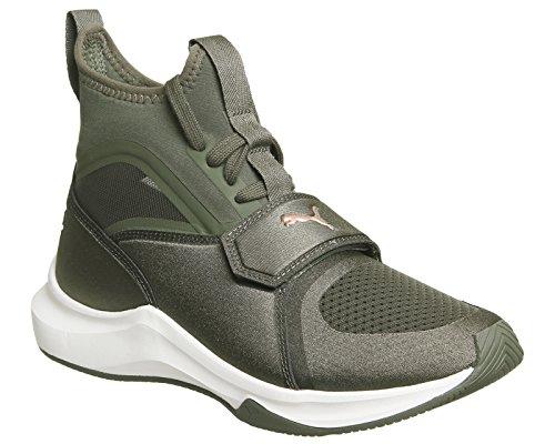 Puma Phenom Donna Sneaker Verde Verde