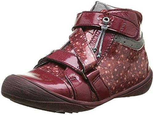 GBBNadette - Sneaker Bambina , Rosso (Rouge (36 Vvn Bordo/Imprimé Dpf/Heidi)), 29