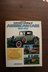 Standard Catalog of American Cars 1805-1942 by Beverly R. Kimes (1985-06-24)