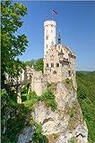 Poster 40 x 60 cm: Schloss Lichtenstein in