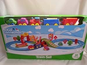Baby wheels train set