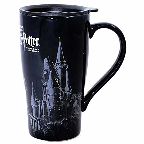 Wizarding World of Harry Potter Hogwarts Castle Thermal Ceramic Travel Coffee Mug Cup with Lid by Wizarding World of Harry Potter