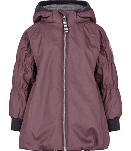 Racoon Mädchen CAJSA SOLID Winterjacke Wassersäule 9.000 Jacke, Violett (Black Plum Bla), 128 -