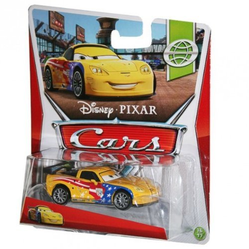 Disney Pixar Cars Jeff Gorvette (WGP Series, # 16 of 17)