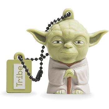 Tribe FD007404 Disney Star Wars Pendrive 8 GB Simpatiche Chiavette USB Flash Drive 2.0 Memory Stick Archiviazione Dati, Portachiavi, Yoda, Verde
