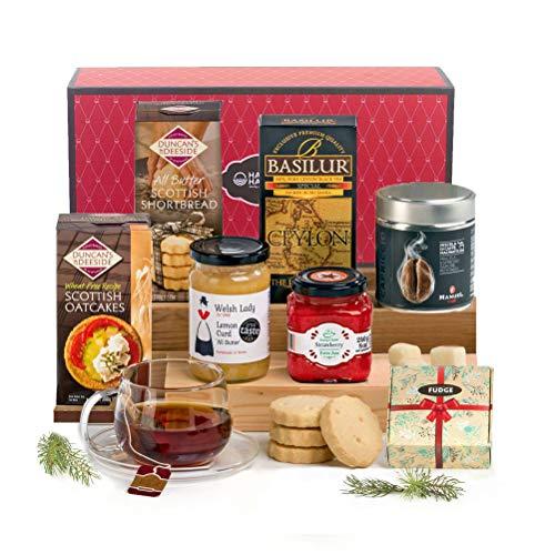 Traditional Tea Time Treats Hamper Gift Box