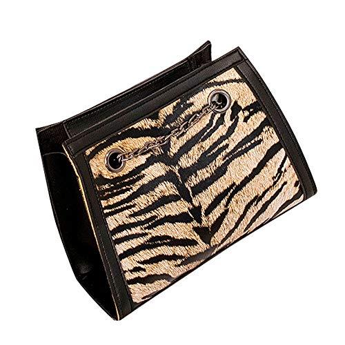 Borsette da polso donna,feixiang borse del messaggero moda città shopping pochette e clutch borsa quilted pochette donna elegante piccola clutch