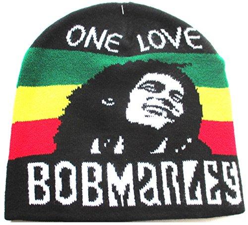 Bob Marley gorro rojo oro verde de Jamaica