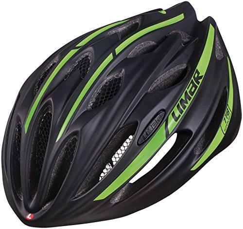 Fahrradhelm Limar 778 matt Gr.M (52-57cm), schwarz/grün (1 Stück)