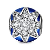 NinaQueen Fireworks 925 Sterling Silver Charms Bead for women fit pandora charms bracelet