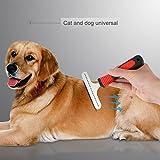 Malayas Fellpflege-Werkzeug Fellpflege-Gerät Hundebürste Hundekamm katzenkamm zur Entfernung von Unterwolle
