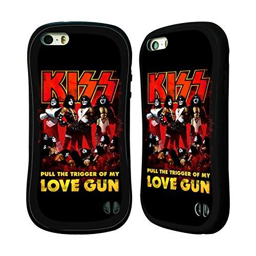 Ufficiale KISS I Was Made For Lovin You Sottotitoli Case Ibrida per Apple iPhone 6 / 6s Love Gun