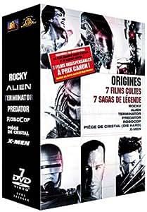 Origines - 7 films Cultes, 7 Sagas de Légende : Rocky/ Alien/ Terminator/ Predator/ Robocop/ Piège de Cristal/ X-Men