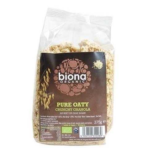 Biona Reine Oat Granola - ohne Zuckerzusatz, 1er Pack (1 x 375 g)