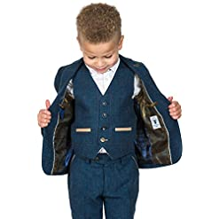 Boys Tweed Wedding Suits